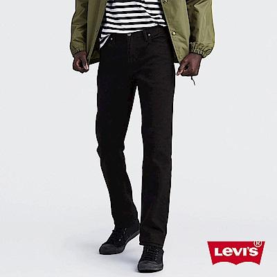 Levis 男款 511 低腰修身窄管牛仔褲 黑色基本款 彈性布料