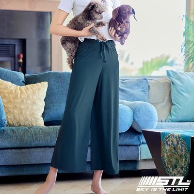STL yoga ESSENCE Light Quick Dry 韓國瑜珈 運動機能 加長加寬 本質落地寬舒服褲 寶格麗綠HunterGreen