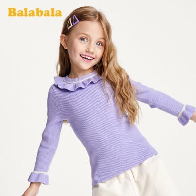 氣質女孩花邊領針織上衣-女(3色)