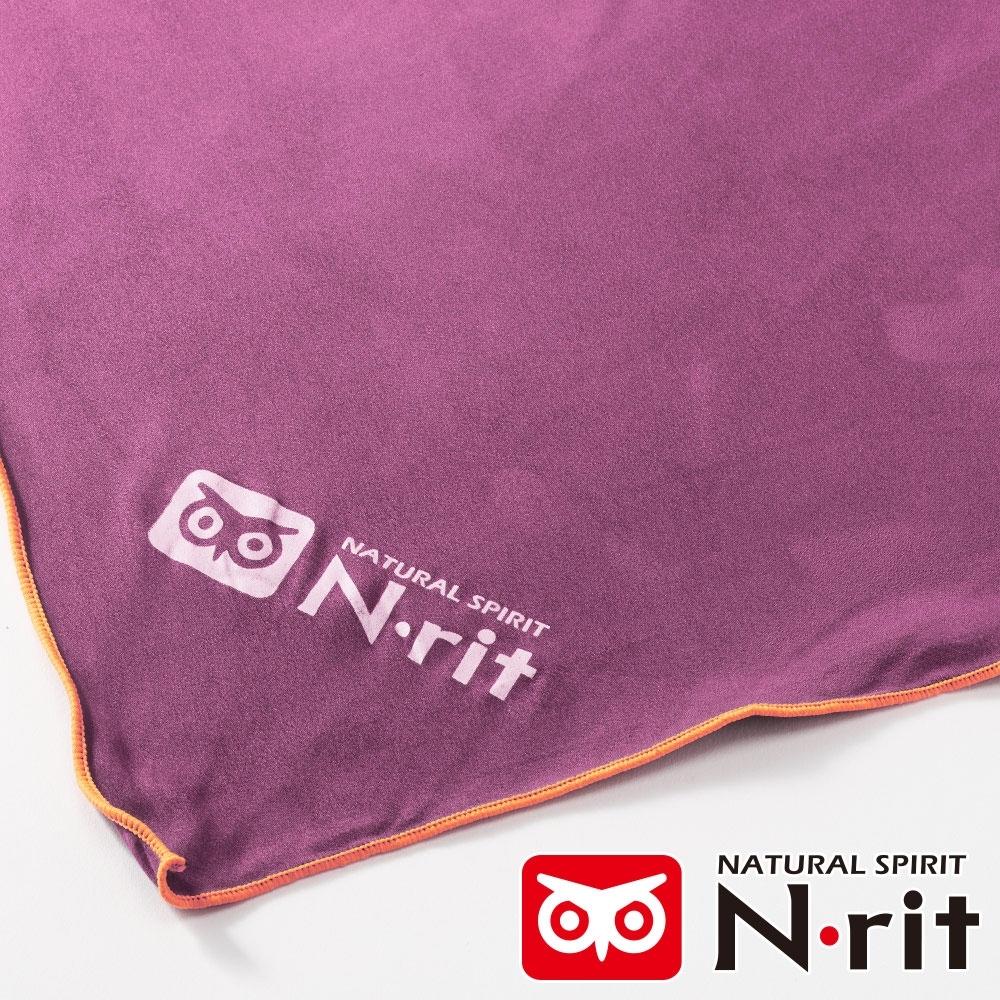 【N • rit 】SUPER LIGHT輕量吸水巾/抗菌快乾運動巾(63.5X150cm)/NSC4142紫