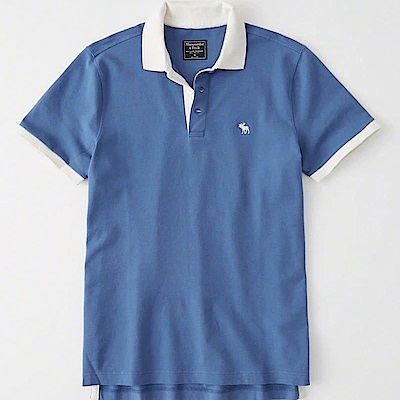 AF a&f Abercrombie & Fitch POLO 藍色 1026