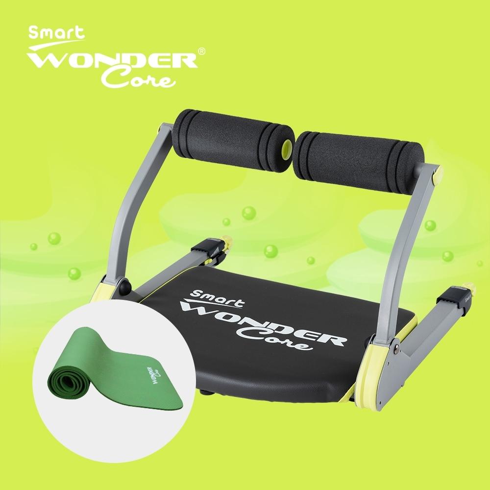Wonder Core Smart全能輕巧健身機 兩件組(含運動墊)
