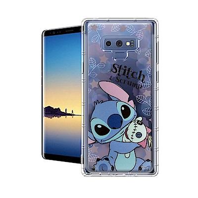 迪士尼授權正版 Samsung Galaxy Note9 繽紛空壓安全手機殼(史...