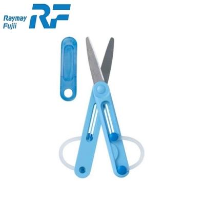 日本Raymay藤井 筆型剪刀SHM504兒童剪刀折疊剪刀