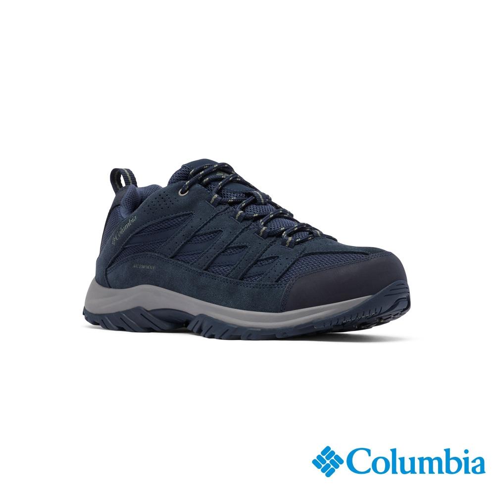 Columbia 哥倫比亞 男款 - Omni-Tech 防水登山鞋-深藍  UBM53720NY