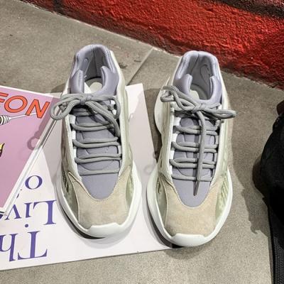韓國KW美鞋館 唯美純淨流行休閒運動鞋-灰