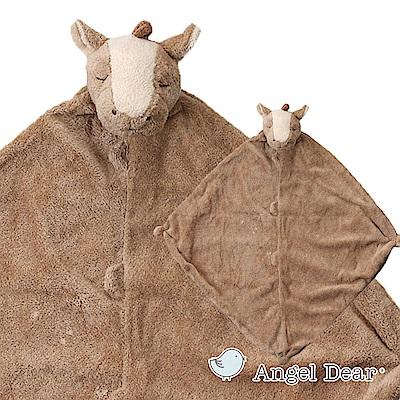 美國 Angel Dear 動物嬰兒安撫巾 (棕色小馬)
