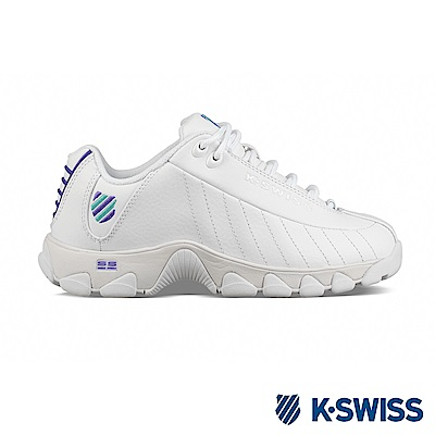 K-SWISS ST329 CMF老爹鞋-女-白/紫/綠