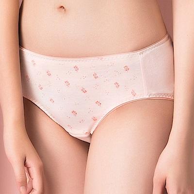 嬪婷-環保纖植萃 M-LL 低腰三角褲 (花粉桔)透氣包臀-親膚素材