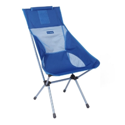 Helinox Sunset Chair 輕量高腳椅 藍色 Blue Block