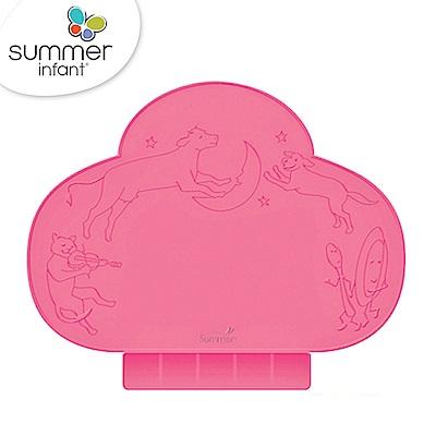 美國 Summer Infant 可攜式防水學習餐墊 - 桃紅