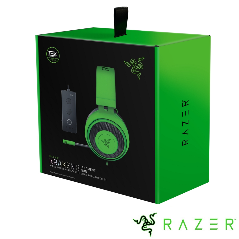 Razer Kraken TE 北海巨妖競技版 電競耳機(綠)