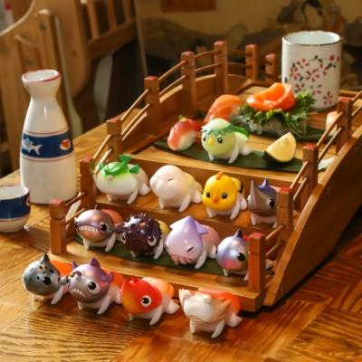 Baby Sushi 鮪魚壽司店公仔(二入隨機款)