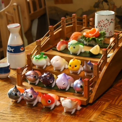 Baby Sushi 鮪魚壽司店公仔(12入盒裝)