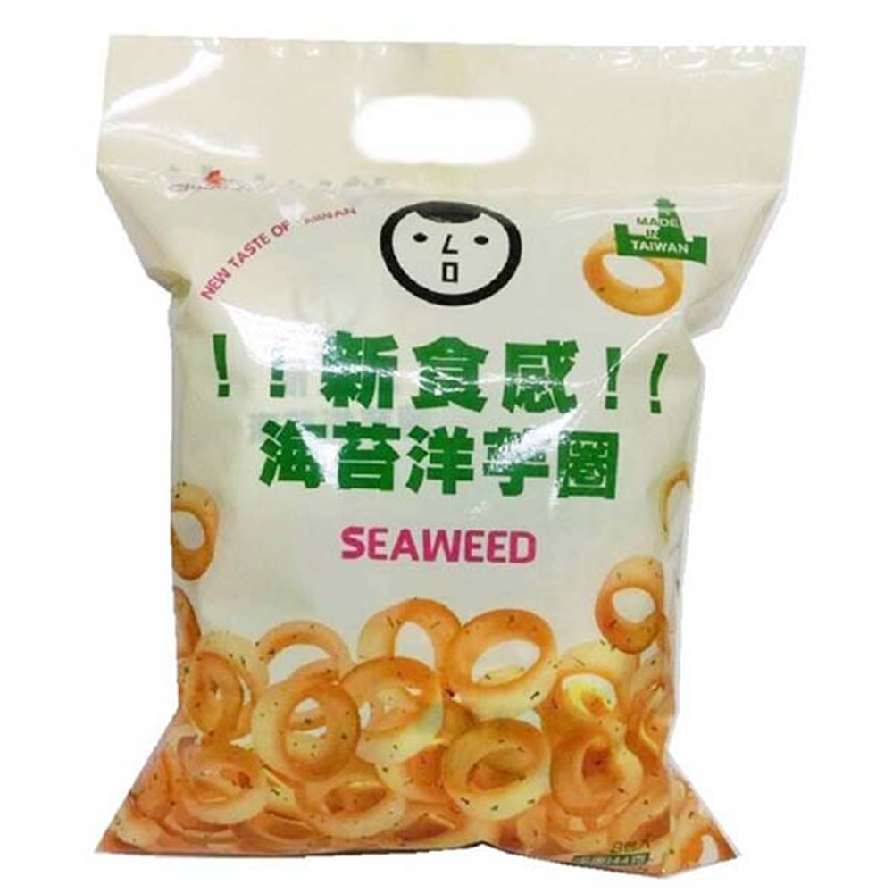 巧益 海苔洋芋圈(奶素) (144g)