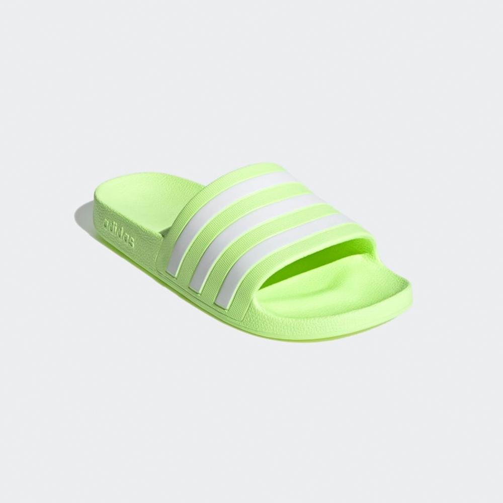 ADIDAS 拖鞋 運動 休閒 女鞋 螢光綠 FY8105