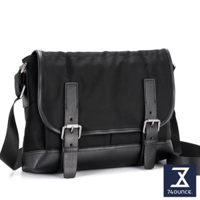 74盎司 Presence 雙帶設計側背包[G-1046]黑