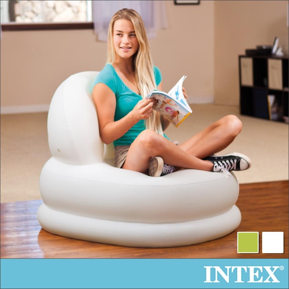 INTEX 時尚充氣蛋椅84x99x76cm-2色可選(68592)