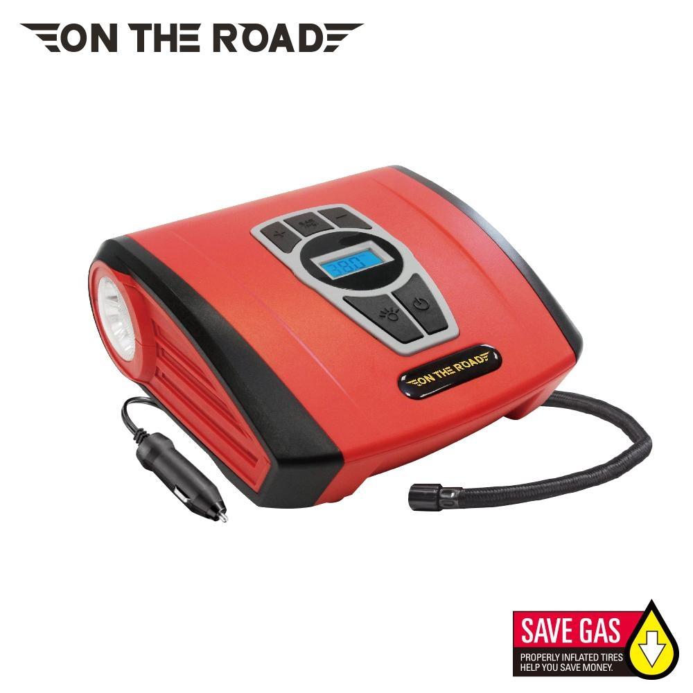 【ON THE ROAD】火神 數位顯示 自動充停 高速打氣機