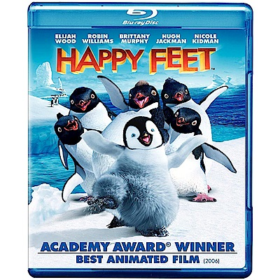 快樂腳  Happy Feet. 藍光  BD