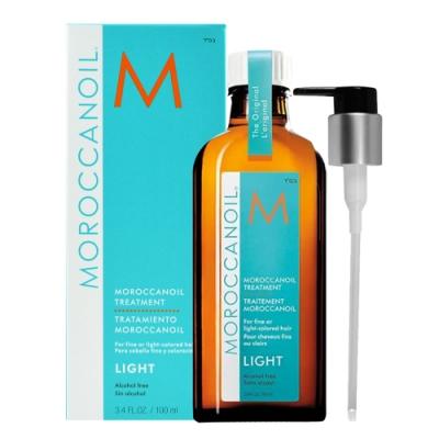 *MOROCCANOIL 摩洛哥優油 輕優油100ml 護髮油 (含壓頭)