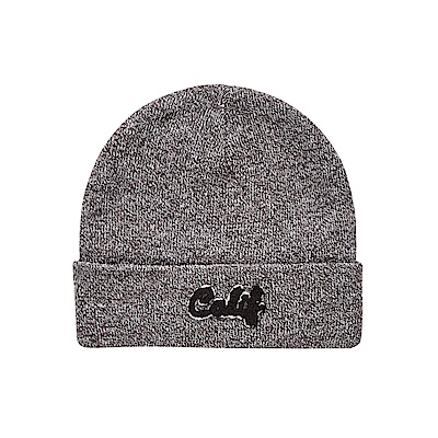 CACO-毛巾繡反摺版毛帽-(三色)-男【QAR061】