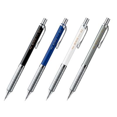 日本飛龍Pentel金屬筆握orenz不斷芯自動鉛筆製圖筆自動0.2mm鉛筆XPP1002G防斷芯自動鉛筆(超細芯/低重心/Metal Grip)
