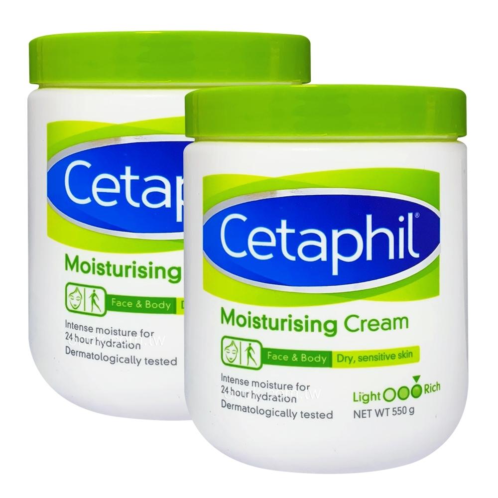 Cetaphil 舒特膚 溫和乳霜550g(2入特惠)