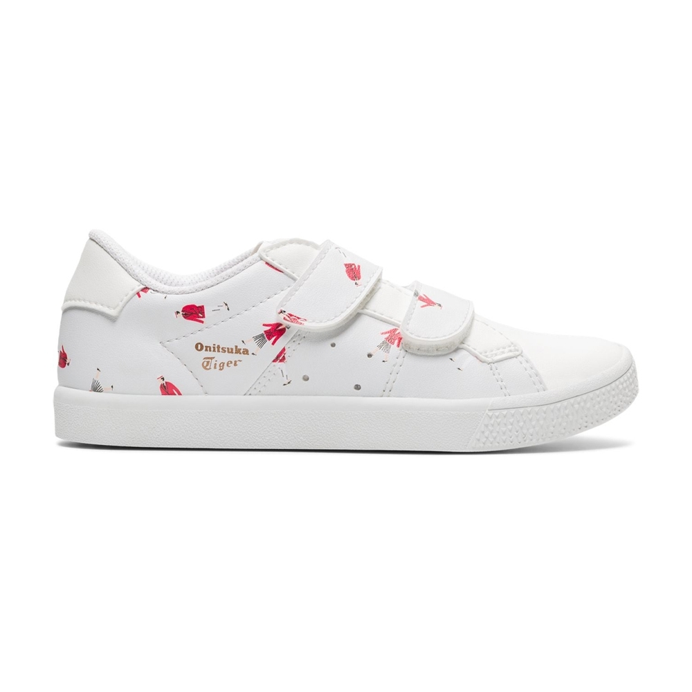 Onitsuka Tiger鬼塚虎-LAWNSHIP PS 中童鞋 復古限量版親子鞋款 (紅色)1184A072-100