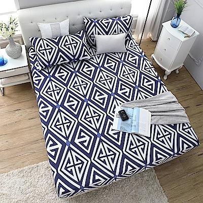 岱思夢 雙人100%天絲床包枕套三件組 秋意