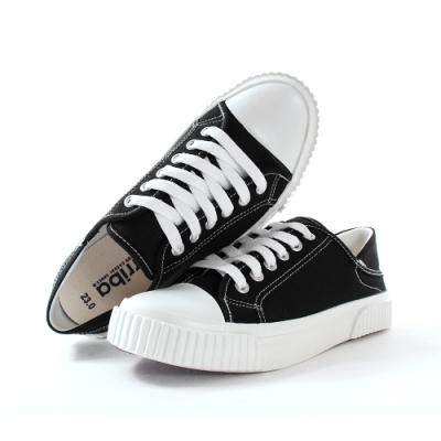 魔法Baby 女鞋 台灣製時尚新潮帆布鞋 sd7350