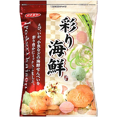 ikedaya 彩彩海鮮風味米果(150g)