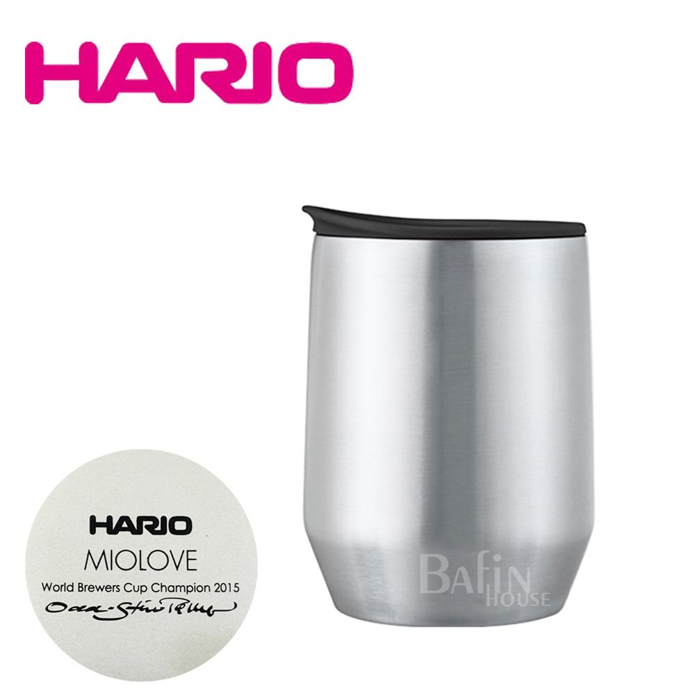 【HARIO】MIO酷炫黑不鏽鋼保溫保冷香氛杯