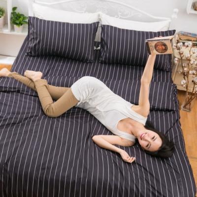 eyah 全程台灣製100%頂級205織紗精梳棉單人床包二件組-多款任選