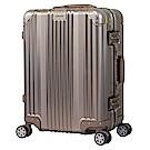 日本 LEGEND WALKER 1510-48-19吋 全鋁合金登機箱 香檳金