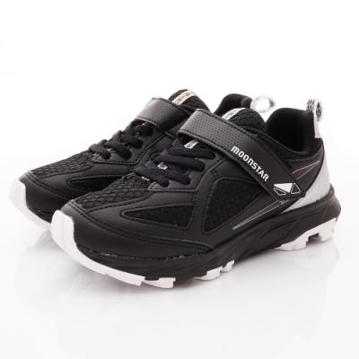日本月星頂級競速童鞋 耐久系列運動鞋 NI286黑(中大童段)