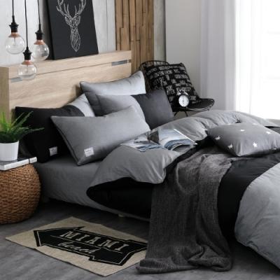 OLIVIA  CHOCOLATE 加大雙人床包被套四件組 200織精梳純棉 台灣製