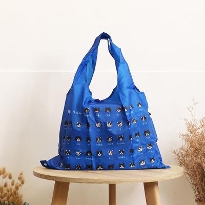 日本 Prairie Dog 設計包/環保袋/購物袋/手提袋 - 白黑貓家族