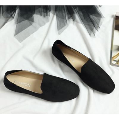 KEITH-WILL時尚鞋館 果色繽紛英倫風懶人鞋 黑