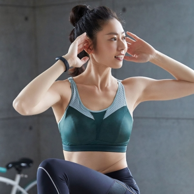 蕾黛絲-LadieSport律動 Level 3 釋壓背心 M-EEL 運動內衣 個性綠