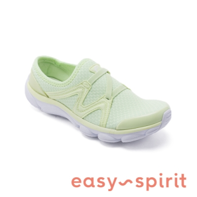 Easy Spirit-seRIPTIDE2 透氣彈性布輕量型休閒鞋-青蘋綠