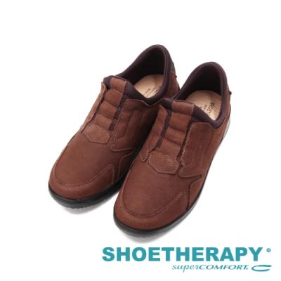 SAPATOTERAPIA巴西輕量健走型男系(直套款)休閒鞋 男鞋-咖