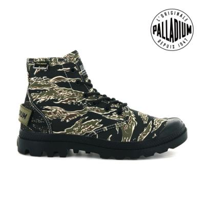 PALLADIUM PAMPA HI OG CAMO軍規迷彩靴-中性-美軍迷彩