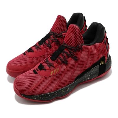 adidas 籃球鞋 Dame 7 GCA 新年 男鞋 愛迪達 牛年 Lillard 里拉德 紅 黑 FY3442