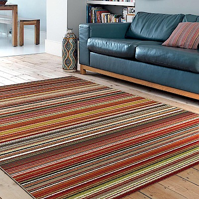 Ambience 比利時Nomad現代地毯-馬雅(橘)135x190cm