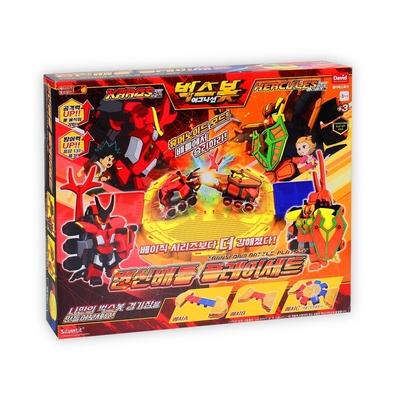BUGSBOT 超能甲蟲王變形系列-對決組合包
