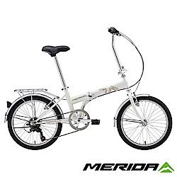 《MERIDA》美利達 FB20折疊車 白 20吋輪徑 6速 2018