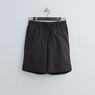 Hang Ten - 男裝 - 多彩抽繩休閒短褲-深灰色