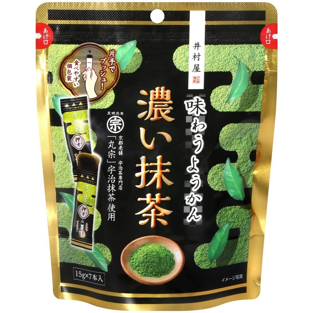 井村屋製果 濃抹茶羊羹(105g)