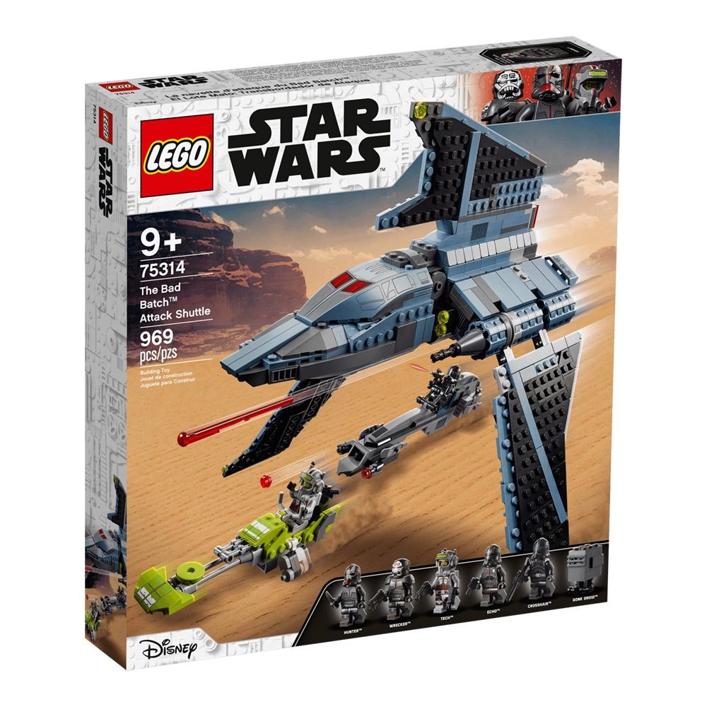 樂高LEGO 星際大戰系列 - LT75314 The Bad Batch Attack Shuttle